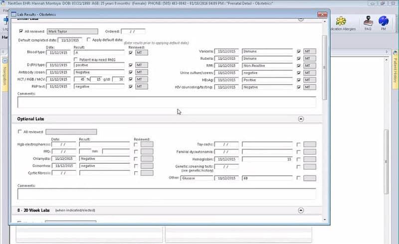 NextGen Healthcare Software