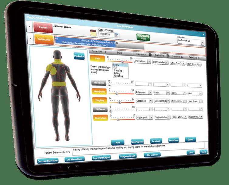 chiropractic software